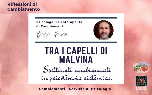 TRA I CAPELLI DI MALVINA. Spettinati cambiamenti in psicoterapia sistemica.